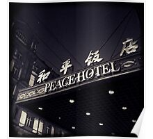 OLD SHANGHAI - Peace Hotel Poster
