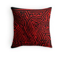 Amazed by the heart  Throw Pillow