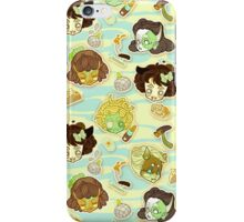 Shy: Monster Girls (Green) iPhone Case/Skin