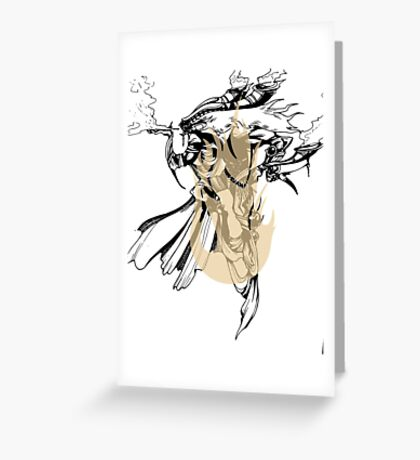 Ifrit Greeting Card