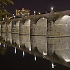Market Street Bridge Harrisburg PA II by Russell Fry