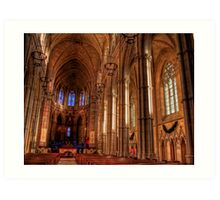 Arundel Cathedral Art Print