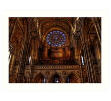 Arundel Cathedral - Organ Art Print