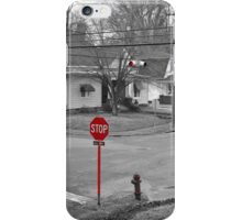 All Way Stop iPhone Case/Skin