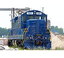 Train Engine Photographic Print