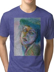 Green Woman Tri-blend T-Shirt
