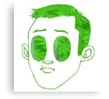 Dudeface - Grass Green (Deluxe 420 Edition) Canvas Print