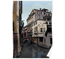 """""""PEACEFUL CANAL"""" Poster"""