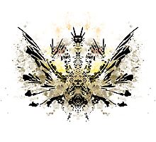 Rorschach King Gihdorah by NormalSizedDeet