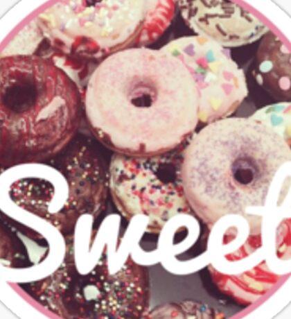 Sweet Donut Print Sticker