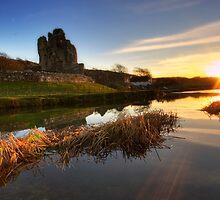 Ogmore Castle by Rob Funffinger
