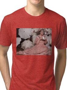 Tea Time with Mooshoo Tri-blend T-Shirt