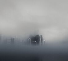 Emerging From The Mist (Greeting Card) by KingsKreation