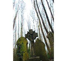 Gravestones Photographic Print
