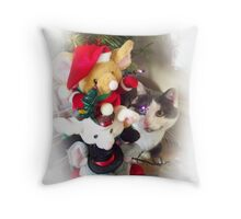 Oh! Mice Throw Pillow