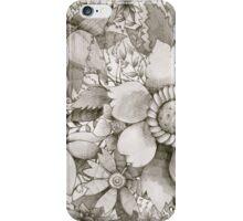 vintage flowers iPhone Case/Skin