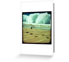BEACH BLISS - Calmness in the Storm Greeting Card