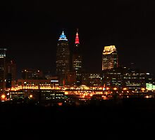 Cleveland Skyline by SSaA