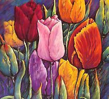 'Tulip Time' by Helen Miles
