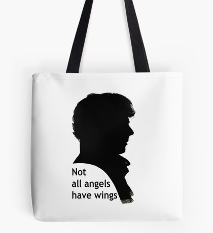Not All Angels Have Wings - BBC Sherlock Tote Bag