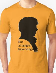 Not All Angels Have Wings - BBC Sherlock Unisex T-Shirt