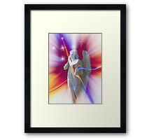 Starburst Angel Framed Print