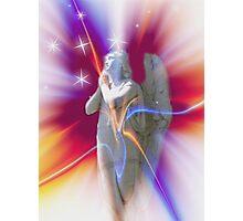 Starburst Angel Photographic Print