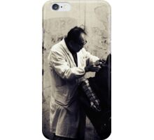 OLD SHANGHAI - My Barber, My Friend iPhone Case/Skin