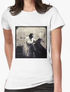 OLD SHANGHAI - My Barber, My Friend Womens Fitted T-Shirt