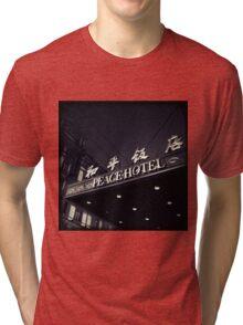 OLD SHANGHAI - Peace Hotel Tri-blend T-Shirt