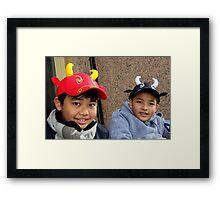 Kids Framed Print