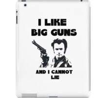 Big Guns iPad Case/Skin