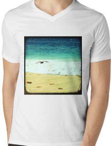 BEACH BLISS - Soaring Mens V-Neck T-Shirt