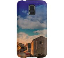 Sunset at Peggy's Cove 05 Samsung Galaxy Case/Skin