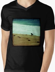 BEACH BLISS - Contemplate Mens V-Neck T-Shirt
