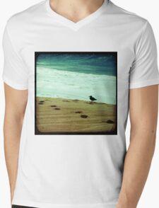 BEACH BLISS - Contemplate Mens V-Neck T-Shirt