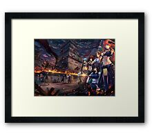 Warriors of Edo Framed Print