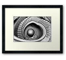 ABSTRACT ARCHITECTURE - Escher-ish Framed Print