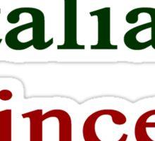 Italian Princess  Sticker