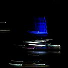 Blue Boat Number 5 by John Douglas