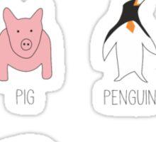 Amazing Animals Sticker
