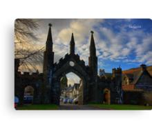Taymouth Castle Gate Canvas Print