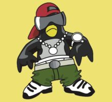 Hip Hop Tux One Piece - Short Sleeve