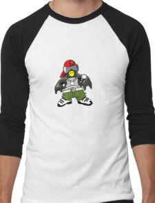 Hip Hop Tux Men's Baseball ¾ T-Shirt