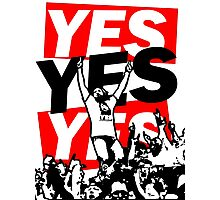 The Yes Movement [White] Photographic Print