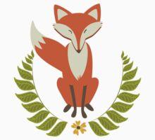 Happy Fox Baby Tee