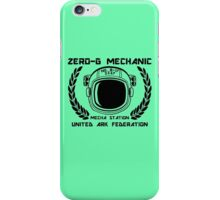 Zero-G Mechanic iPhone Case/Skin
