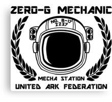 Zero-G Mechanic Canvas Print