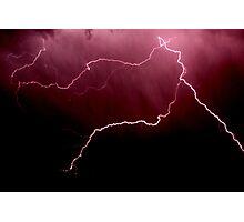 Lightning Storm Photographic Print