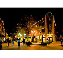 Old Town Christmas Photographic Print
